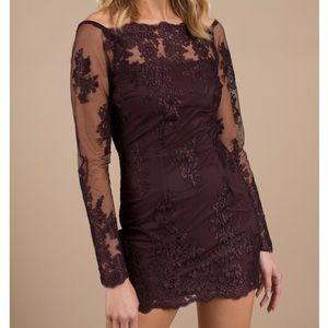Tobi Sadie Lace Bodycon Dress
